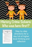 History Crime Solvers: Who was here first?