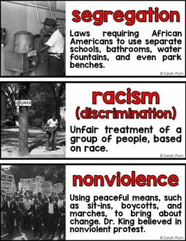 History DIFFERENTIATED: Martin Luther King, Jr. {A Famous Americans Unit}