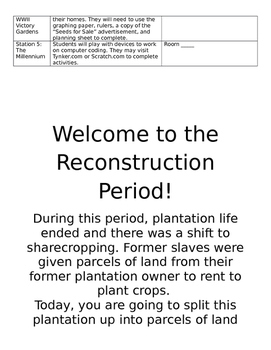 History Day Activity Packet
