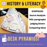 History Desk Pyramids - Skills Scaffold