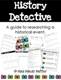 History Detective Research Project: Historical Event