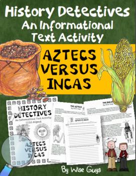 Aztec Inca Informational Text Test Prep