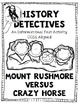 Informational Text Test Prep Mount Rushmore and Crazy Horse