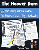 Informational Text Activity The Hoover Dam
