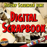 Digital Interactive Notebook Scrapbook Activity: Ancient o