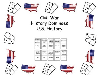 History Dominoes - Civil War