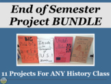 History End of Semester Project Bundle