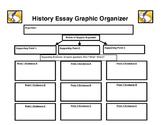 History Essay Graphic Organizer