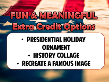 History Extra Credit Assignment Options