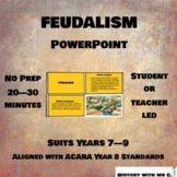 Feudalism PPT - Middle Ages History - Medieval Europe