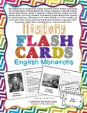 History Flashcards - English Monarchs and Colonization