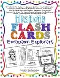 History Flashcards - European Explorers