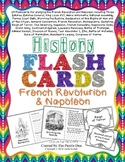 History Flashcards - French Revolution and Napoleon