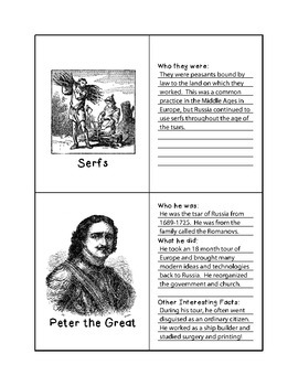 History Flashcards - Latin American Revolutions and Tsarist Russia