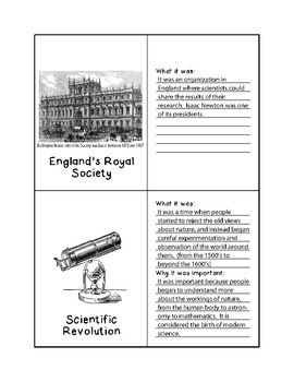 History Flashcards - Scientific Revolution and Enlightenment