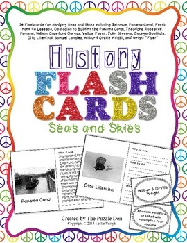History Flashcards - Seas and Skies