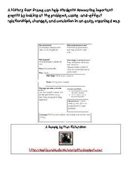 History Four Frame Summary