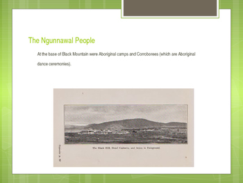 History & Geography - Black Mountain ACT PowerPoint