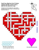 History & Government of Love; A fun Valentine's Day Puzzle activity for MS/HS