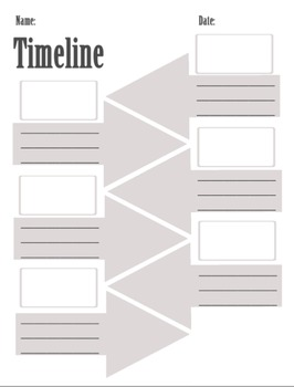 History Graphic Organizers Package