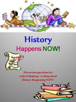 History Happens NOW !!