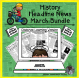History Headline News Informational Text Reading March Dis