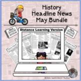 History Headline News Informational Text Reading May Dista