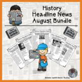 History in Headline News Daily Informational Social Studie
