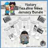 History Headline News Informational Text Reading Social St