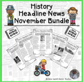History Headline News Informational Text Social Studies Re