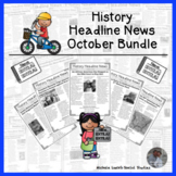 History Headline News Informational Text Social Studies Re