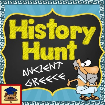 History Hunt: Ancient Greece (Puzzle Pack & Puzzle Treasure Hunt)