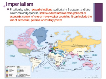 History: Imperialism -The reasons, extent and impact of European Imperialism