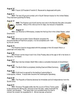What In the World? Since 1899 - Twentieth Century Developments