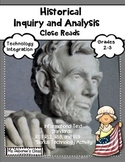 History Inquiry and Analysis Close Reads