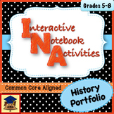 History Interactive Notebook & Portfolio