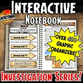 History Investigation Interactive Notebook Templates with