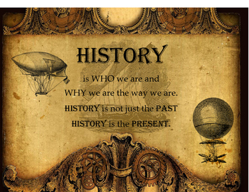 History Is . . .