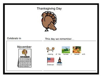 History - K.1 - Book - Thanksgiving, MLK Day, President's Day, 4th of July
