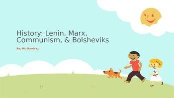 History: Lenin, Marx, Communism, & Bolsheviks