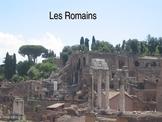 History - Les Romains (French, grades 3-6)