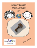 History Lesson Plan Through Art (Social Studies), Printabl