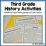 Third Grade History Activities