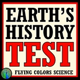 History Life on Earth - Fossil Record TEST NGSS MS-ESS1-4 MS-LS4-1