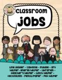 History Makers Classroom Jobs