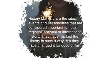 History Markers Personalities