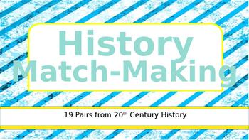 History Match Making