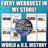 History Matters - EVERY WEBQUEST IN MY STORE! (World Histo