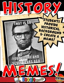 History Memes for Ancient World History, Medieval History or US History