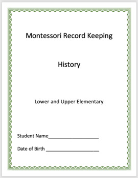History - Montessori Record Keeping